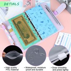cashplannerorganizer, 12piecebudgetenvelope, leather, holesexpensebudgetsheet