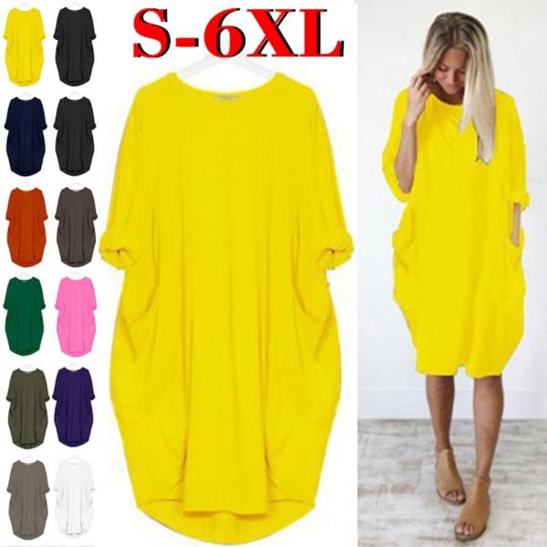 Plus Size, plus size dress, Dress, short sleeves