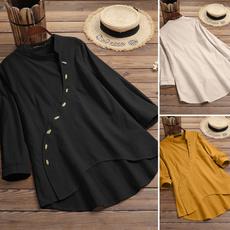 buttonsdownshirt, Plus Size, baggyshirt, Shirt
