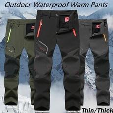 Fleece, waterproofpantmen, Winter, Hiking