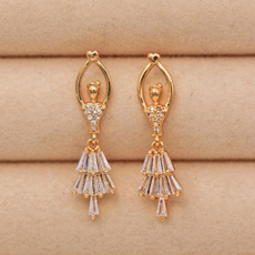 Heart, Fashion, Dangle Earring, Jewelry