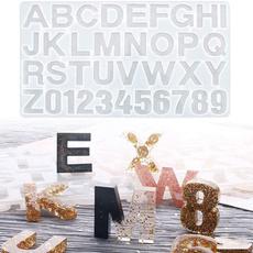 alphabetresinsiliconemold, epoxymold, letternumberepoxymold, letternumbersiliconemold