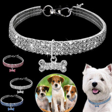 Bling, Chain, Pet Products, Rhinestone