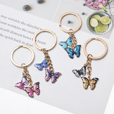 butterfly, keyholder, Jewelry, Colorful