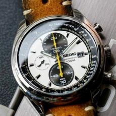 watchformen, leather strap, leather, wristwatch