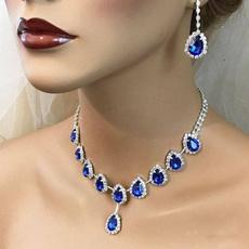 Blues, weddingladiesnecklace, bridalnecklace, Jewelry