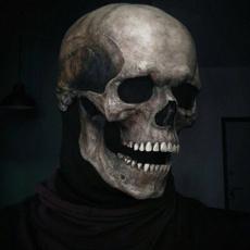 Helmet, Cosplay, skull, Halloween