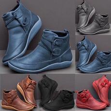 leatherbootsforwomen, Fashion, flatheelboot, leather