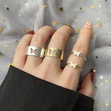 aircraftring, ringsformen, butterflyring, Fashion
