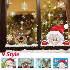 elk, Decor, glasssticker, Home & Living