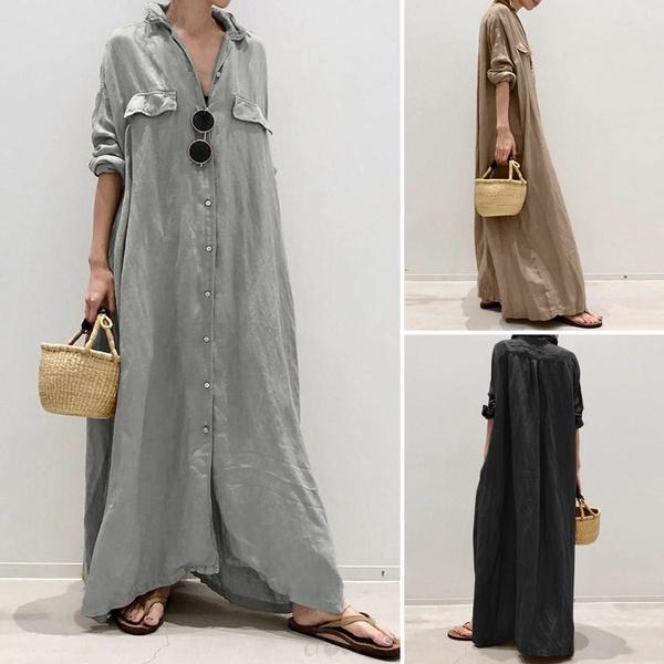 dressesforwomen, looselongdres, plus size dress, Dress