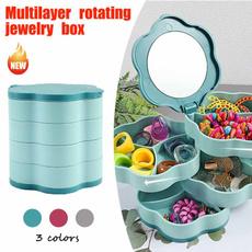 Box, multifunctionstoragebox, multilayerjewelrybox, Capacity