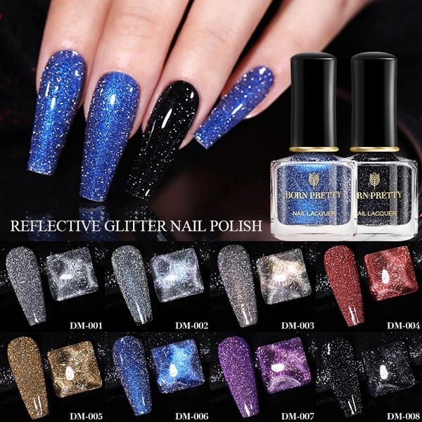 sequinsnailpolish, reflectiveglitternail, Colorful, Beauty