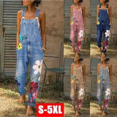 Women Pants, Plus Size, Floral print, Ladies Fashion