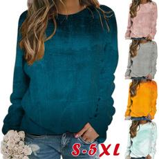 Plus Size, Long Sleeve, winter fashion, womens top