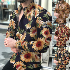 flowershirtsformen, Long Sleeve, Сукня, slim