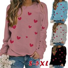 shirtsforwomen, Heart, Plus Size, Love