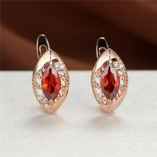 DIAMOND, gold, wedding earrings, whitesapphireearring