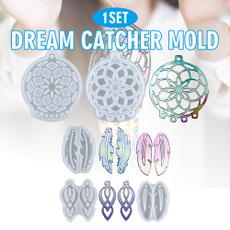 Jewelry, Dreamcatcher, Silicone, resinmold