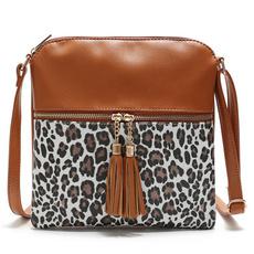 weekenderbag, Tassels, weekendbag, leopard print