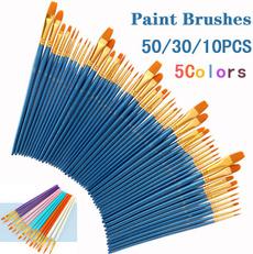 Art Supplies, art, watercolorbrush, Wooden