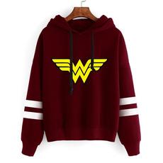 cute, Fashion, Sleeve, Sweatshirts