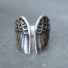 Sterling, openingadjustingring, Jewellery, silver plated