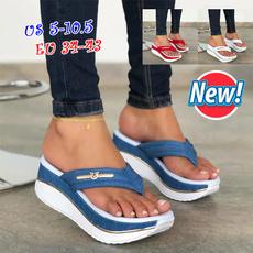 wedge, Flip Flops, Відпочинок на природі, Platform Shoes