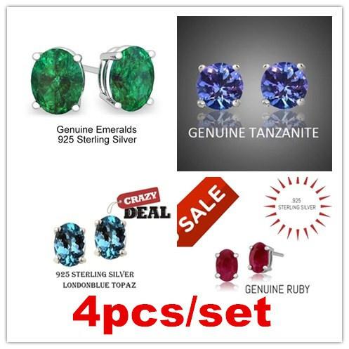 butterfly, Jewelry, Stud Earring, tanzanite
