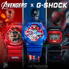 Marvel Comics, avenger, casiowatche, Waterproof