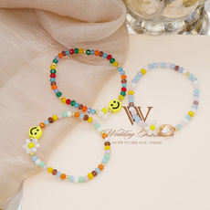 Crystal Bracelet, Love, glassbracelet, Colorful