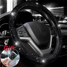 Bling, steeringwheelcoverset, blacksteeringwheelcover, bling bling