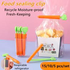 sealer, clamp, carrotsealingclipbag, Storage