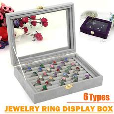 Storage Box, case, Fashion, velvet