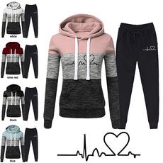 Two-Piece Suits, women jogging suit, Classics, Long Sleeve