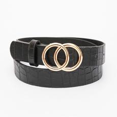 Goth, Leather belt, Office, women belt