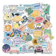 cute, suitcasesticker, Colorful, Waterproof