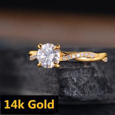 weddingengagementring, DIAMOND, Infinity, gold