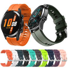 Fashion Accessory, 22mmwatchband, Wristbands, siliconestrap