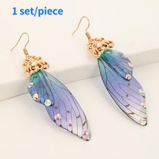 butterfly, retroelegantearring, Animal, Ladies Earrings