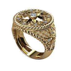 ringsformen, DIAMOND, 925 sterling silver, wedding ring