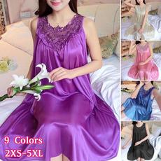 nightwear, Lace, Dress, homewear
