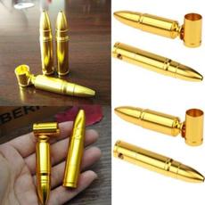 giftforsmoker, Bullet, portablesmokingpipe, Mini