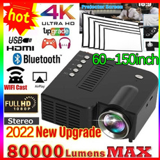projetor4k, Mini, Television, led