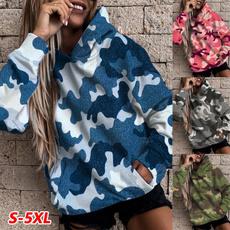 hoodie womens, Plus Size, Winter, Tops