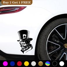 Car Sticker, Poker, Fashion, Laser