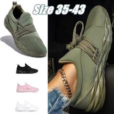 Plus Size, walkingshoesforwomen, outdoorcasualshoesforwomen, round toe
