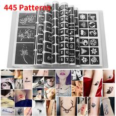 tattoo, hennatattoostenciltemplate, Gifts, temporarytattoostencil