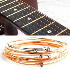Steel, Copper, Wire, Strings