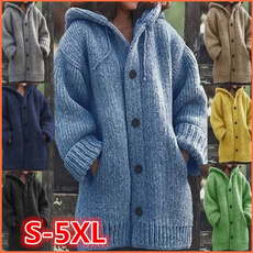 knitted, cardigan, knit, Winter